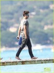 Zac Efron Vacations In Saint-Tropez
